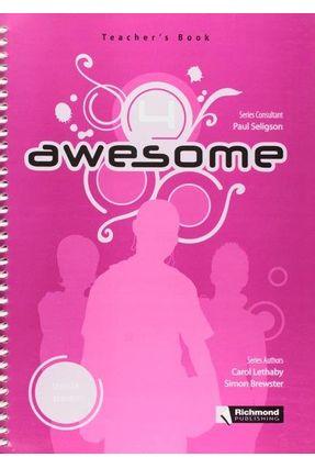 Awesome 4 - Teacher's Book - Seligson,Paul pdf epub
