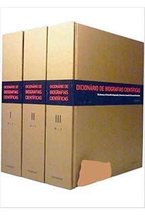Dicionário De Biografias Científicas - 3 Volumes - Benjamin,Cesar   Hoshan.org