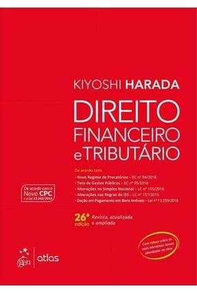 Direito Financeiro e Tributário - 26ª Ed. 2017 - Harada,Kiyoshi | Nisrs.org