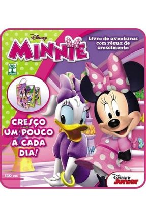 Livro Régua Infantil - Minnie