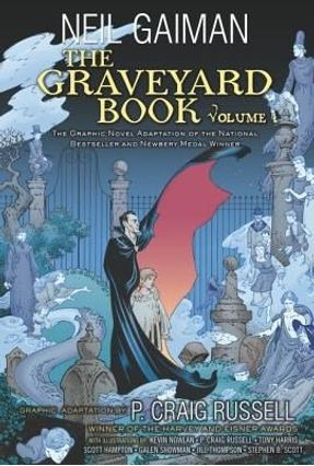 The Graveyard Book Graphic Novel - Vol. 1 - Gaiman,Neil   Hoshan.org
