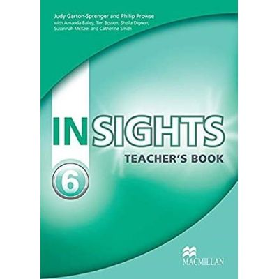 Insights 6 - Teacher's Book With Test Cd-Rom