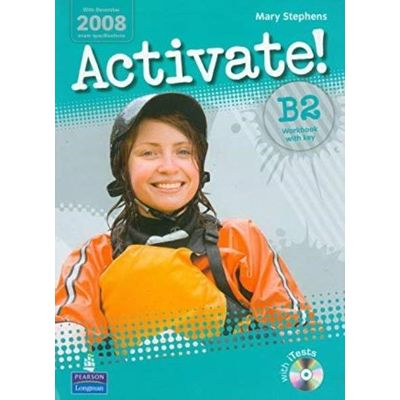Activate! B2 Workbook with Key CD Rom Pack 1 ed.