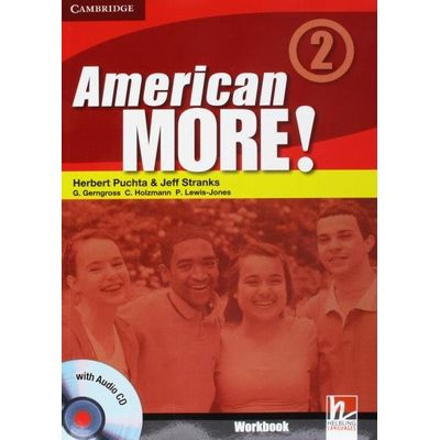 American More 2 Workbook With Audio CD