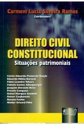 Direito Civil Constitucional - Situações Patrimoniais - Ramos,Carmen Lucia Silveira Vários | Hoshan.org