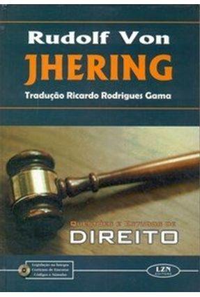 Questões e Estudo de Direito - Von Jhering,Rudolf | Hoshan.org