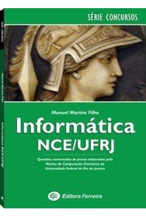 Informática Nce / Ufrj - Martins Filho,Manuel   Hoshan.org