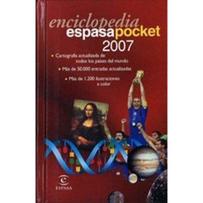 Enciclopedia Espasa Pocket 2007 (c/CD Rom) + Diccionario Esp/ing - Eng/spa