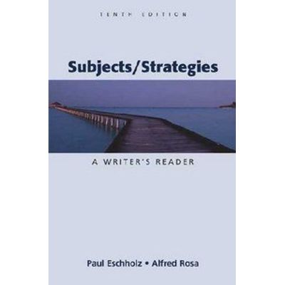 Subjects/strategies