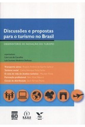 Discussões e Propostas para o Turismo no Brasil - Barbosa,Luiz Gustavo Medeiros Carvalho,Caio Luiz de pdf epub