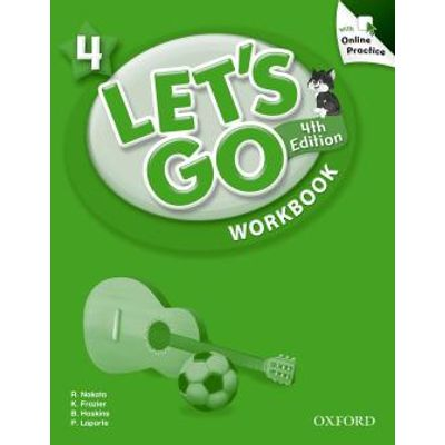 Lets Go 4 - Workbook With Online Pratice - Fourth Edition