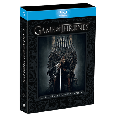 Blu-ray Game Of Thrones - 1ª Temporada - 5 Discos