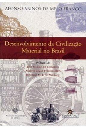 Desenvolvimento da Civilização Material no Brasil - Franco,Afonso Arinos de Melo pdf epub