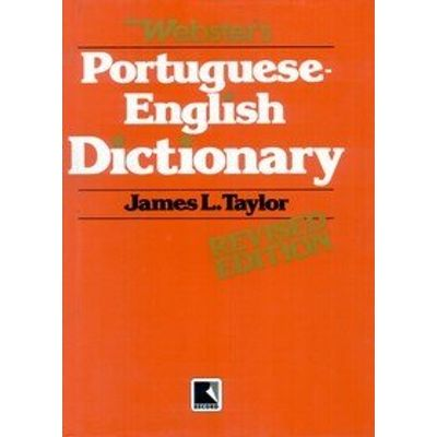 Portuguese English Dictionary Webster's