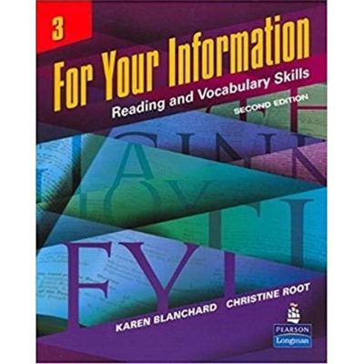 For Your Information 3 Reading And Vocabulary Skills- 2nd ed.