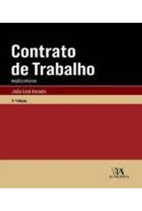 Contrato De Trabalho - Noções Básicas - João Leal Amado   Tagrny.org