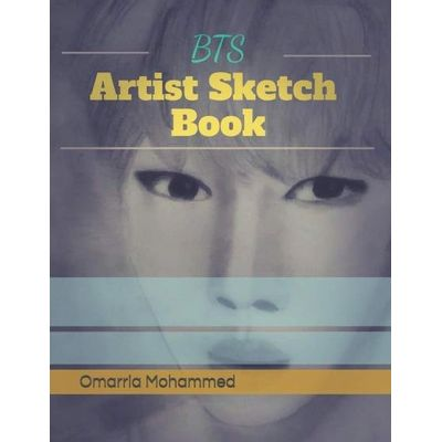 BTS Artist Sketch Book Drawings