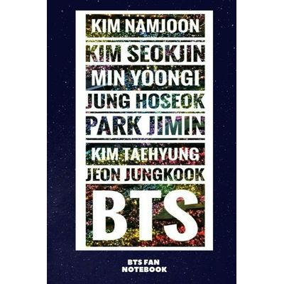 BTS Fan Notebook - Army Of Names