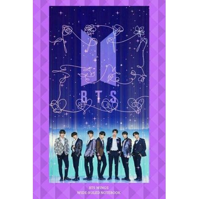 BTS Wings Wide-Ruled Notebook