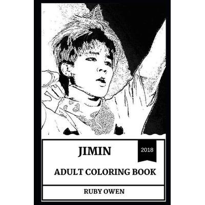 Jimin Adult Coloring Book