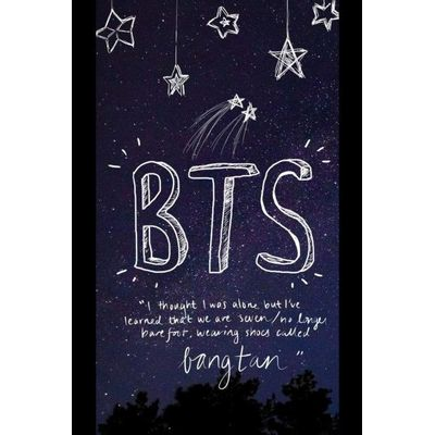 BTS Notebook - I Thought I Was Alone But I've Learned That We Are Seven