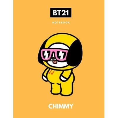 BTS Bt21 Chimmy K-Pop Notebook