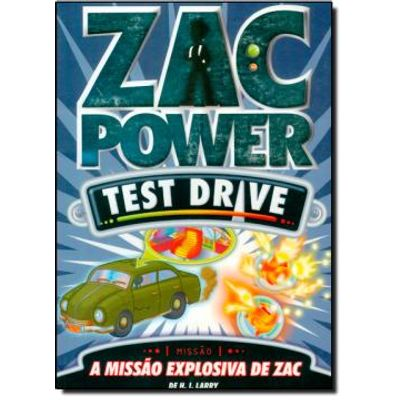 Zac Power Test Drive 7 - a Missão Explosiva de Zac