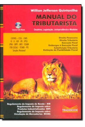 Manual do Tributarista - Quintanilha,Willian Jefferson | Nisrs.org