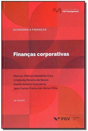 Financas Corporativas - Marcus Vinicius Quintella Cury Cristovao Pereira de Souza   Hoshan.org