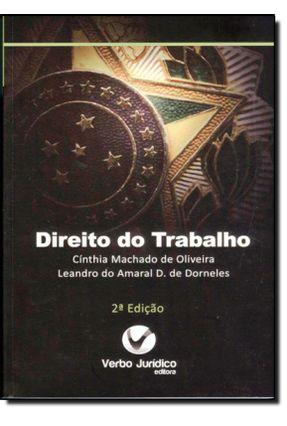 Direito do Trabalho - 2ª Ed. 2013 - Série Objetiva - Oliveira,Cinthia Machado de | Hoshan.org