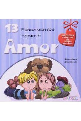 13 Pensamentos Sobre o Amor - Girassol pdf epub