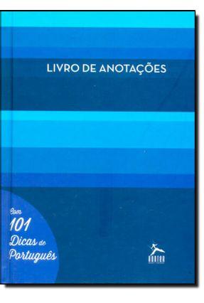 Livro de Anotações - Com 101 Dicas de Português - Capa Azul - Cremaschi,Rosângela pdf epub