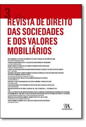 Revista De Direito Das Sociedades E Dos Valores Mobiliários - Vol. 3 - ERASMO VALL. AZEVEDO,NOVAES FR E NELSON | Hoshan.org
