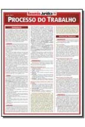 Resumão Jurídico - Processo do Trabalho - Pretti,Gleibe | Hoshan.org