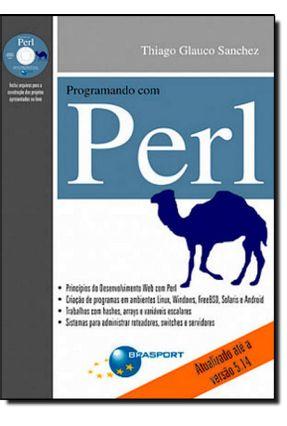 Programando Com Perl - Acompanha CD - Glauco Sanchez,Thiago | Tagrny.org