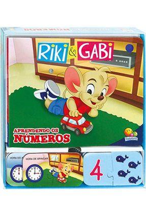 Aprendendo Os Números - Col. Riki & Gabi - Santos,Suelen Katerine Andrade | Hoshan.org