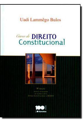 Edição antiga - Curso de Direito Constitucional - 9ª Ed. 2015