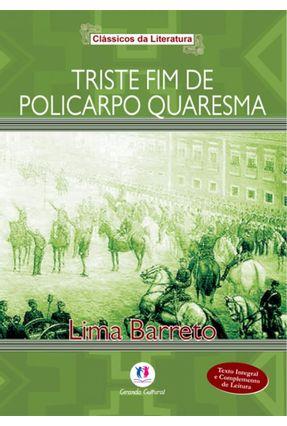 Triste Fim De Policarpo Quaresma - Col. Literatura Brasileira -  pdf epub