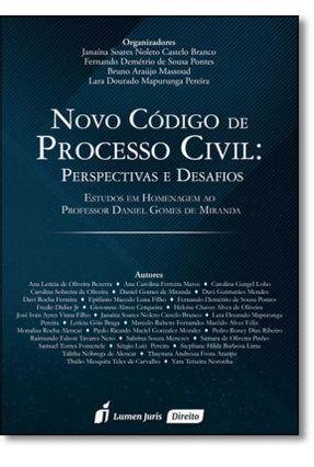 Novo Código de Processo Civil - Perspectivas e Desafios - Pereira,Lara Dourado Mapurunga | Hoshan.org