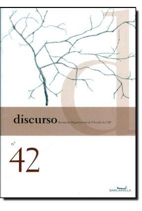 Discurso - Revista do Departamento de Filosofia da Usp n. 42 - Cacciola,Maria Lúcia | Hoshan.org