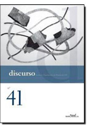 Discurso - Revista do Departamento de Filosofia da Usp N. 41 - Cacciola,Maria Lúcia   Hoshan.org