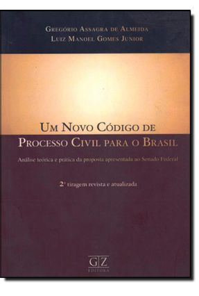 Um Novo Código de Processo Civil para o Brasil - Almeida,Gregório Assagra de pdf epub