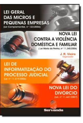 Lei Geral das Micros e Pequenas Empresas - Nova Lei Contra a Violência Doméstica e Familiar - Junior,Reginal Vieira   Hoshan.org