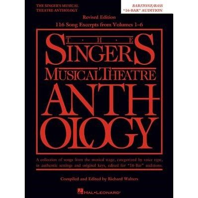 Singer's Musical Theatre Anthology: Baritone/Bass - 16-Bar Audition (Replaces 00230042)