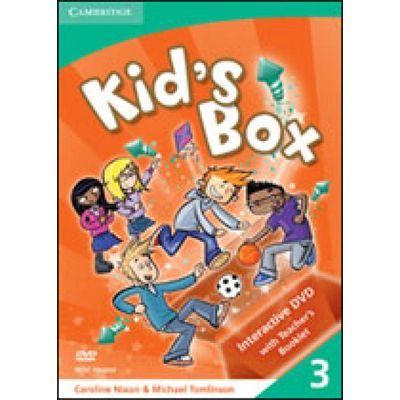 Kids Box 3 - Interactive Dvd ntsc With Teachers Booklet