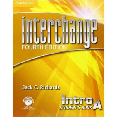 Interchange Intro A - Student's Book With Self-Study DVD-ROM And Online Workbook Pack