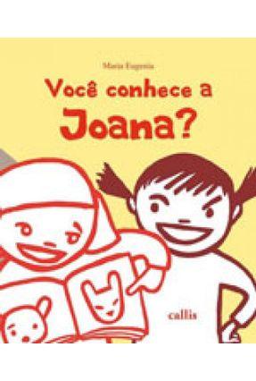 Você Conhece A Joana? - Edição Bilingue - Português / Japonês - Maria Eugenia Longo pdf epub