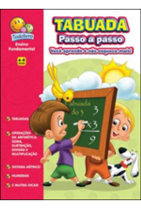 Tabuada Passo a Passo - Ensino Fundamental - Editora Todolivro Editora Todolivro pdf epub