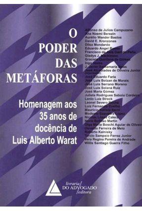 O Poder Das Metáforas - Warat,Luiz Alberto | Hoshan.org