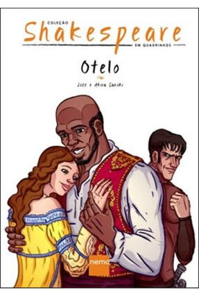 Otelo - Col. Shakespeare Em Quadrinhos - Sanoki,Akira Jozz | Tagrny.org